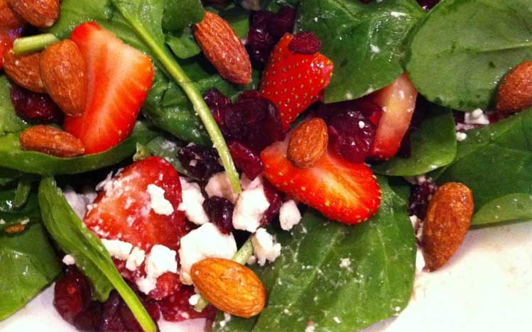 Caties-Organics-Whole-Plant-Foods-Stawberry-Feta-Spinach-Salad
