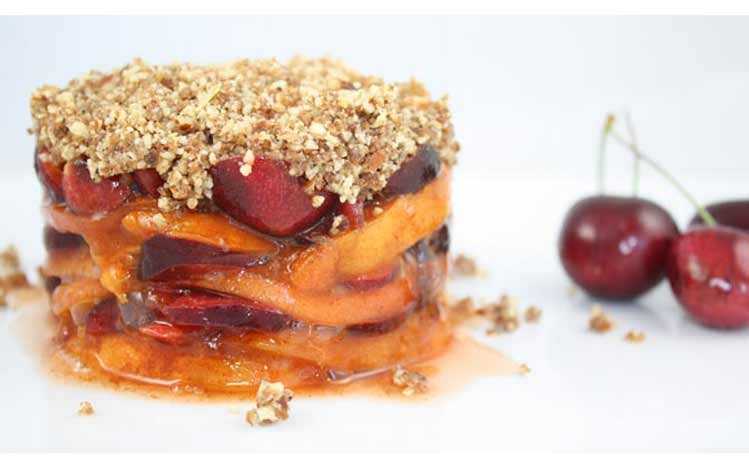 Cures-In-The-Kitchen-Raw-Spring-Crumble-of-Apricots-and-Bing-Cherries