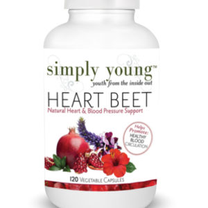 Heart Beet is our natural support for lowered blood pressure and heart health.